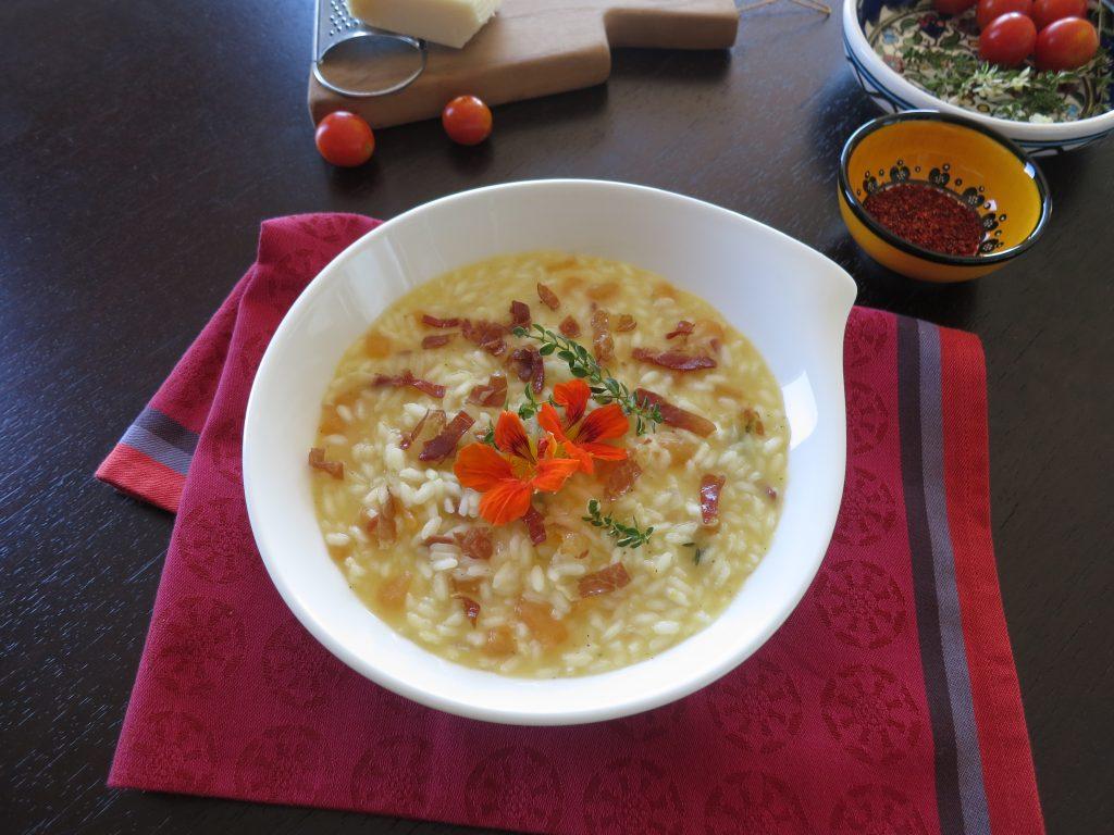 rižot s dinjom i pršutomIMG_4422