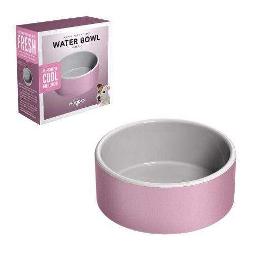 Water Bowl 15cm Pink + package_preview