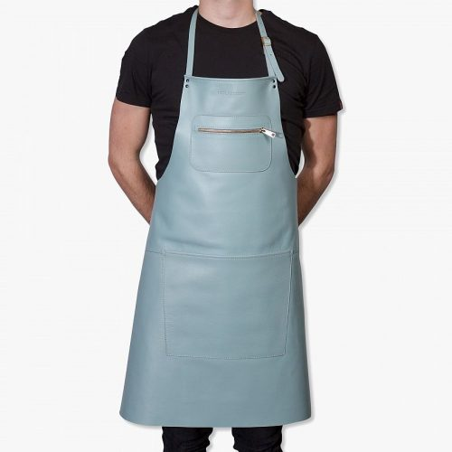 Zipper-style-aprons-–-Colour-styled-leather-Light-blue-01