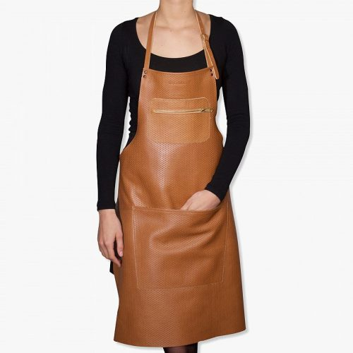 Zipper-style-aprons-–-Perfo-styled-leather-Light-brown-01 (1)