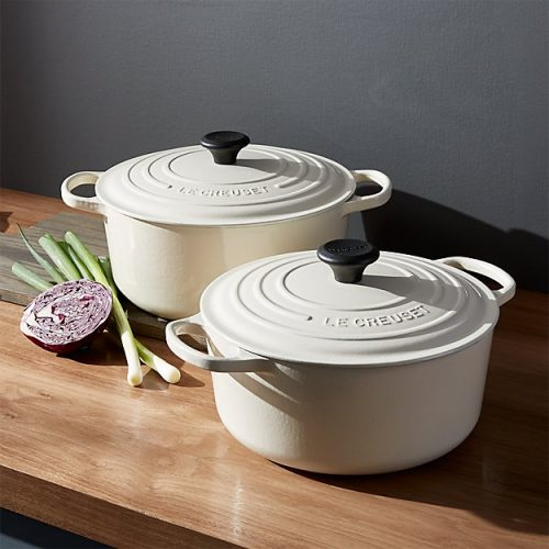 le-creuset-signature-round-cream-french-ovens-with-lid