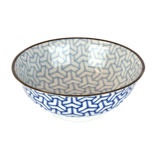 1811-5_large-bowl-herringbone–indigo-ikat–20-x-8cm